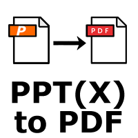 Powerpoint PPT/PPTX to PDF Converter App